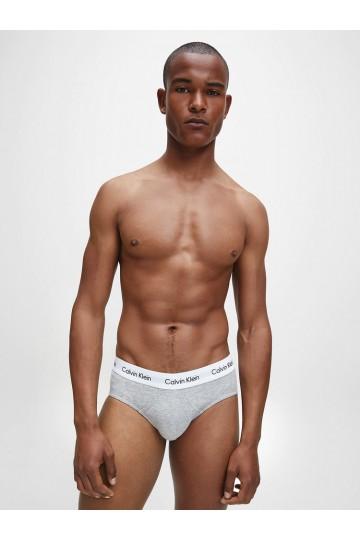 3η συσκευασια σλιπ γκρι Calvin Klein