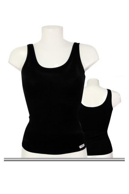Μαύρο Μπλουζάκι Ωμος Fimelle Μινερβα